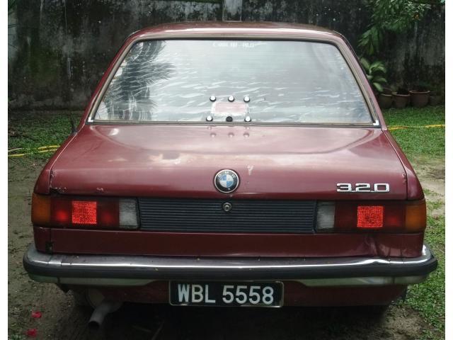 BMW320 1981