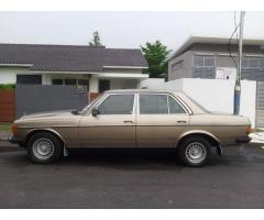 1984 MERCEDES-BENZ 200 - W123 COLLECTOR CAR