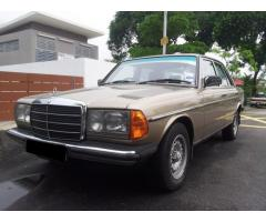 1984 MERCEDES-BENZ 200 - W123 COLLECTOR CAR