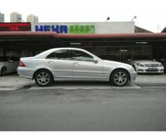 2005 MERCEDES-BENZ C200K- LOCAL- PERFECT CONDITION