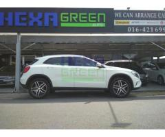 2015 DECEMBER MERCEDES-BENZ GLA200 - 4 YEARS WARRANTY