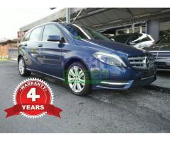 2012 Mercedes-Benz B200 CGI - Local - 4 Years Warranty