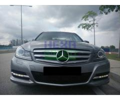 2013 Mercedes-Benz C200 AV - Warranty till 2018 - Perfect Condition