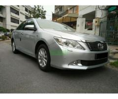 2012 Toyota Camry 2.0 G - Perfect Condition
