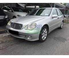 2004 Mercedes-Benz C180 C180K - Well Maintained