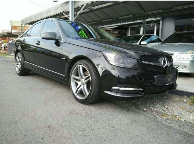 2012 Mercedes-Benz C200 CGI FL - Local - 4 Years Warranty