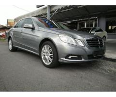 2010 Mercedes-Benz E200 CGI- Local- Like New Car