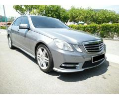 2012 MERCEDES-BENZ E250 7G - LIKE NEW CAR