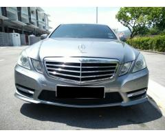 2012 MERCEDES-BENZ E250 7G - LIKE NEW CAR
