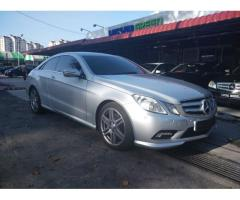 2009 Mercedes-Benz E250 CGI Coupe AMG - Warranty till Nov-2016