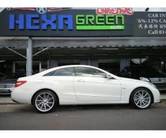 2009 MERCEDES-BENZ E250 COUPE- IMPORTED- LIKE NEW CAR