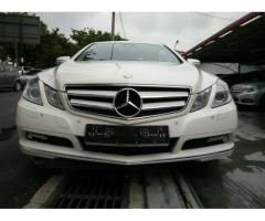 2010 Mercedes-Benz E250 Coupe - Like New Car