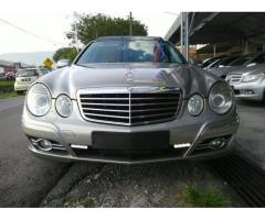 2007 MERCEDES-BENZ E280 V6 AV- Imported New- Full Service Record