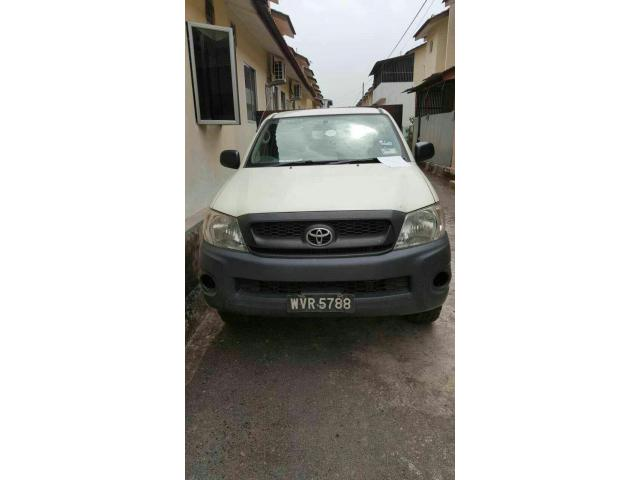 Toyota Hilux Single Cab 2.5 MT