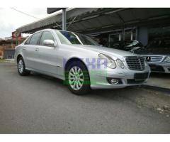 2007 MERCEDES-BENZ E200K FL-LOCAL-FULL SERVICE RECORD