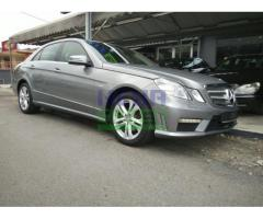 2009 Mercedes-Benz E200 CGI AMG - Perfect Condition