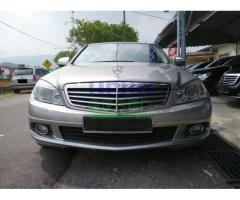 2008 MERCEDES-BENZ C200K - PERFECT CONDITION