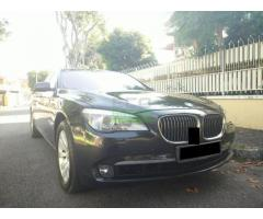 2008 BMW 740LI - VERY LOW MILEAGE - IMPORTED NEW