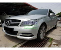 2012 MERCEDES-BENZ C200 CGI FL - FULL SERVICE RECORD