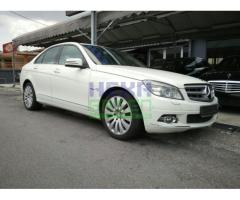 2010 MERCEDES-BENZ C200 CGI - PERFECT CONDITION