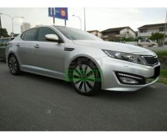 2012 KIA OPTIMA K5 2.0 - IMPORTED NEW - 5 YEARS WARRANTY