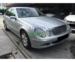 2006 MERCEDES-BENZ E200K - PERFECT CONDITION