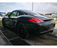 2011 PORSCHE CAYMAN S BLACK EDITION - IMPORTED NEW - LIKE NEW CAR
