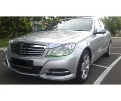 2012 MERCEDES BENZ C180 CGI FL- LOCAL- 4 YEARS WARRANTY