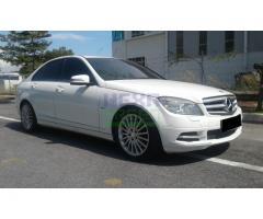 2011 Mercedes-Benz C250 CGI AV - Full Service Record