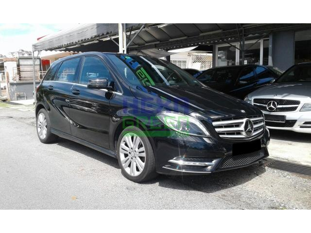2013 Mercedes-Benz B200 CGI - Full Service Record
