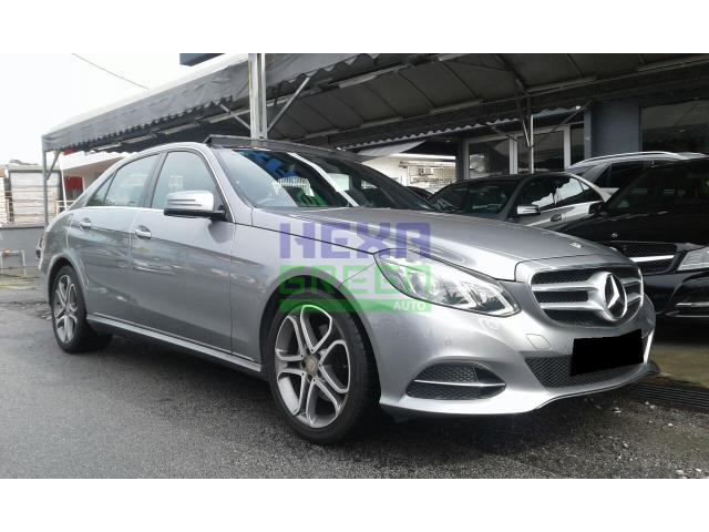 2013 Mercedes-Benz E250 FL-Local-4 Years Warranty-Perfect Condition